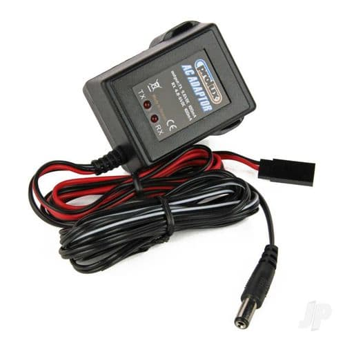 Prolux 4.8V - 9.6V AC Adaptor UK Charger Tx/Rx (Futaba) PLX1381UK